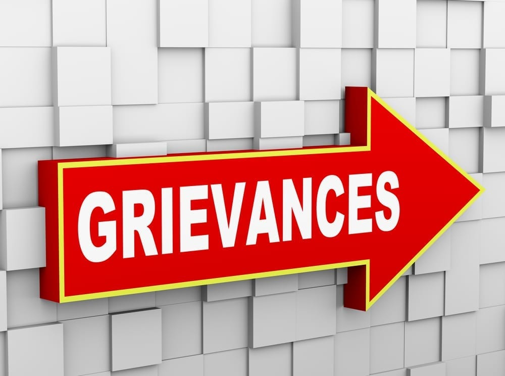 how the grievance procedure works All wales grievance policy  the grievance has been resolved or the grievance procedure has been  in which an impartial third party works with parties in.